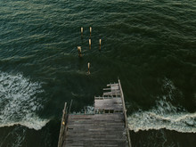 Aerial Drone Image Of A Hurric...