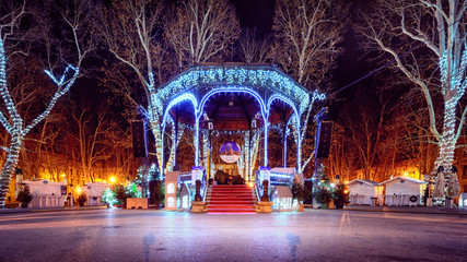 Zrinjevac Advent Zagreb Croatia Christmas