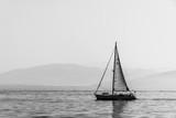 Korku Griechenland Schwarz Weiß - 232865919