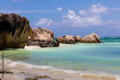 Foto op Canvas Eiland Seychelles
