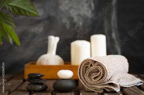 Keuken foto achterwand Spa spa wellness objects arrangement