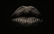 Seductive Female Full Lips On ...