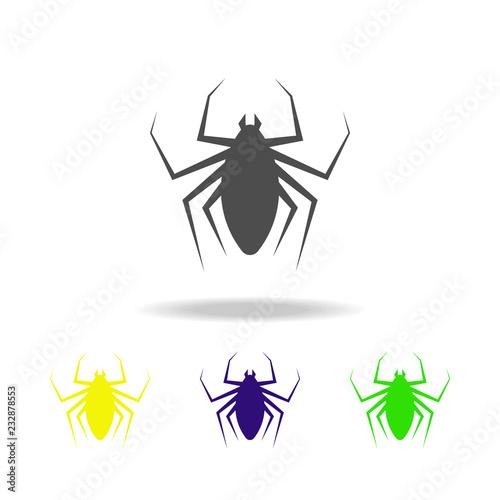 Foto  flea multicolored icon