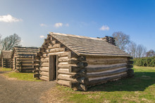 Valley Forge Log Cabins