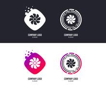 Logotype Concept. Ventilation ...