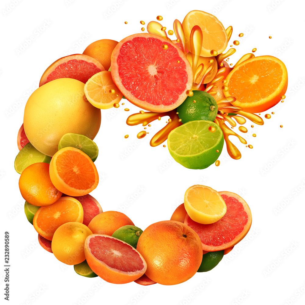 Fototapeta Vitamin C