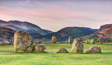 Castlerigg Stone Circle In The English Lake District