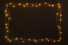 Christmas Lights Garland Borde...