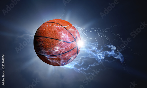 Basketball game concept Wallpaper Mural