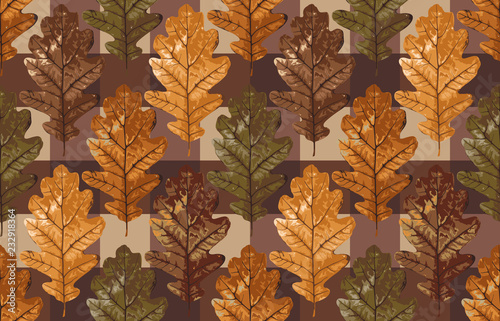 photograph relating to Acorn Pattern Printable titled Printable seamless basic autumn repeat practice history