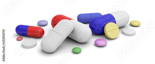 Fotografia  médicament pilule danger addiction