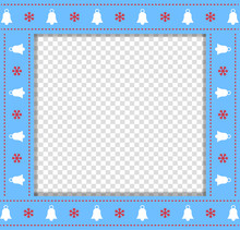 Cute Christmas Or New Year Blu...