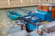 Old Motor Pinnace With Small Q...