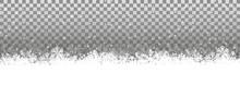 Transparenter Hintergrund Schneelandschaft