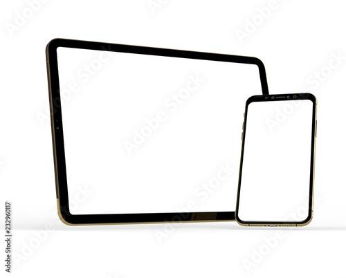 Obraz tablet computer - fototapety do salonu