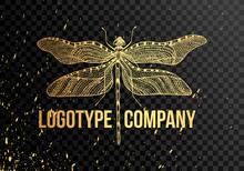 Minimalist Elegant Dragonfly L...