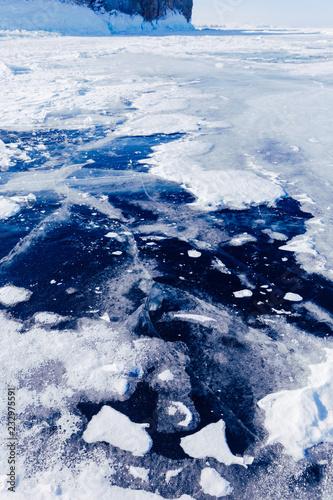 Papiers peints Arctique Spectacular winter landscape.