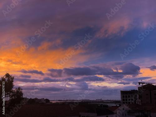 In de dag Australië Sky Colors