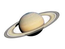 3d Rendered Illustration Of The Saturn