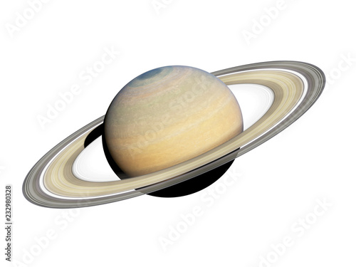 Fototapeta 3d rendered illustration of the saturn