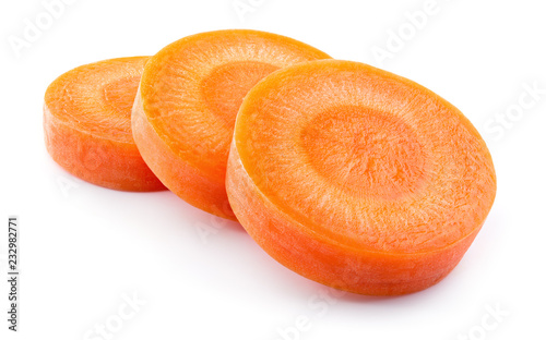 Photo  Carrot slice