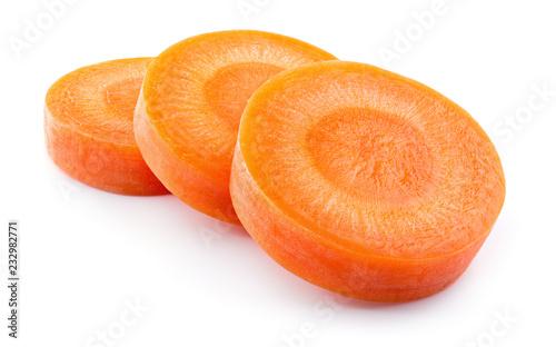 Cuadros en Lienzo Carrot slice