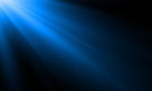 Neon Light Ray Or Sun Beam Vec...