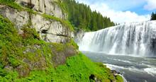 Mesa Falls, Idaho, USA - Wide ...