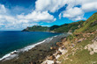 Rolling hills of Basco, Batanes of the Philippines