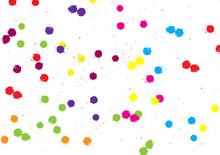 Abstract Vector Splatter Color Background. Illustration Vector Design.