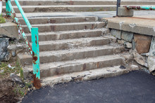 Old Neglected Stairs