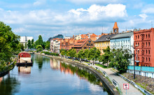 View Of Bydgoszcz With The Brd...