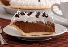 French Silk Chocolate Cream Pi...