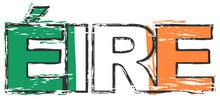 Word EIRE (Irish Translation O...
