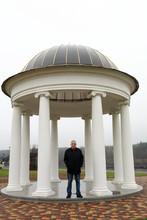 Man Posing On Background Of Ro...