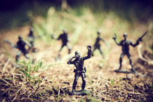 Soldiers In Jungle Fighting. C...