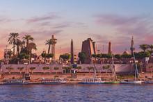 River Nile Luxor Egypt