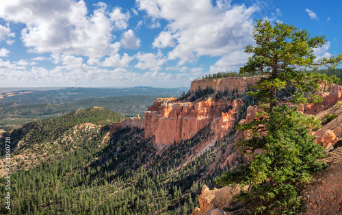 Paria View Overlook at Bryce Canyon National Park Fototapet