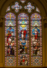 Stained Glass Window From St....