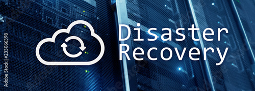 DIsaster recovery Fototapete