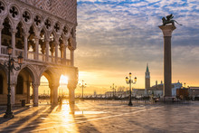 Sunrise At The San Marco Squar...