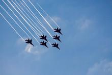 Performance Air Group Swifts At An Air Show In Sochi