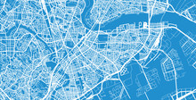 Urban Vector City Map Of Kawas...