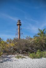 Lighthouse On Sanibel Island In Florida