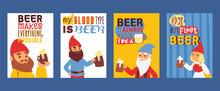Garden Gnome Drink Beer Beard ...