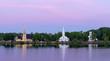 Mahone Bay Churches (Orton Effect added)