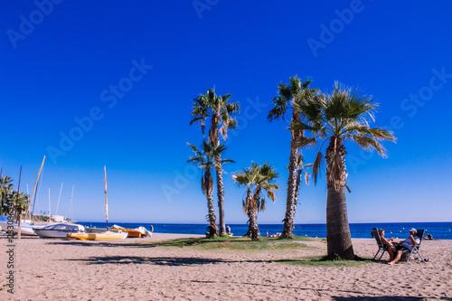 Photo Sunny day on the beach