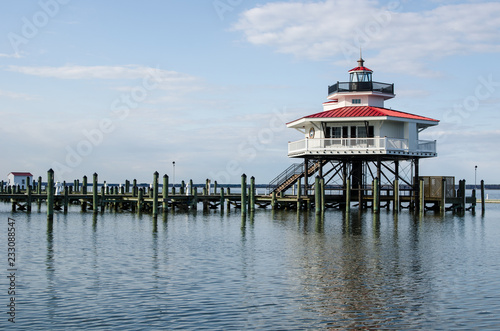 Valokuva Choptank River Lighthouse in Cambridge Maryland, on Maryland's Eastern Shore also known as Delmarva