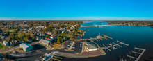 Aerial Panorama View Of Histor...