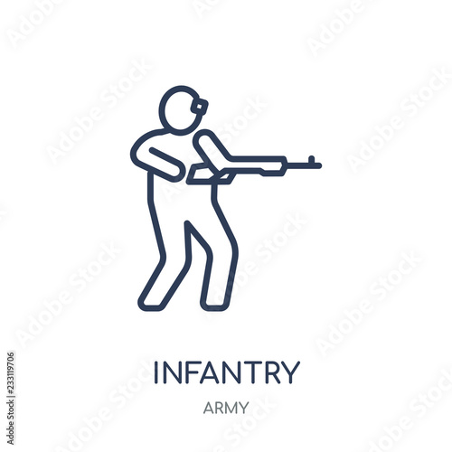 Fotografía  Infantry icon